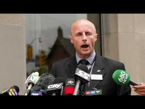Andy Byford speaks about Monday's subway shutdown