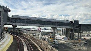 AirTrain JFK HD 60fps: Jamaica to Howard Beach Via Airport Loop (5/24/19)