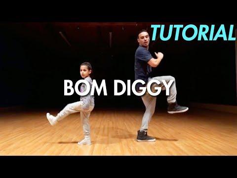 Zack Knight x Jasmin Walia - Bom Diggy (Dance Tutorial)   Mihran Kirakosian Choreography