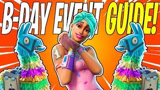 BEST Birthday Llama Weapons & Heroes! Everything You Need To Know | Fortnite Save The World