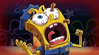 Minecraft | Spongebob Police - SEA WORM PARASITE INVASION!