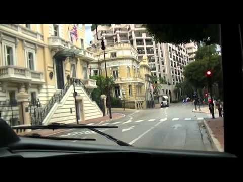 CAB RIDE BUS MONACO ligne 2 Monaco Ville Jardin Exotique