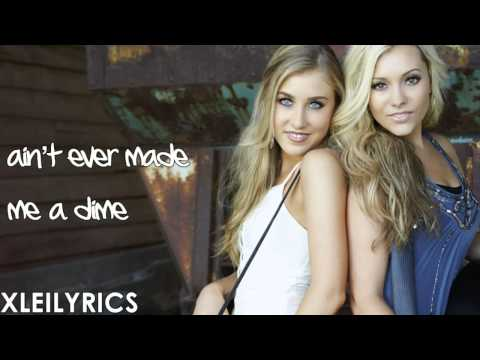 Maddie & Tae - Girl In A Country Song (Lyrics Video) HD