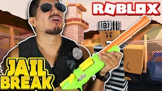 SUPER ROBLOX NOOB!!! Grumpy COP plays ROBLOX for the FIRST TIME!! [Roblox Jailbreak - Ep. 1]