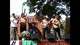 fiddle jam at lyons fiddle festival