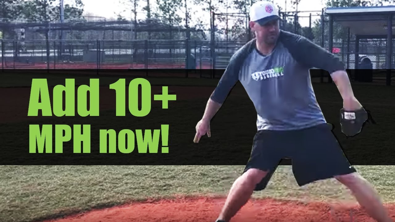 how to add velocity to your fastball