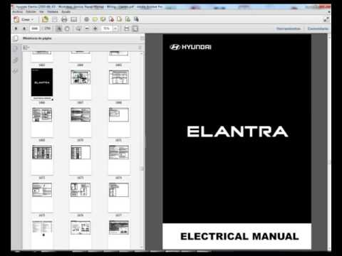 Hyundai Elantra (2000-06) XD - Service Manual - Wiring Diagram - Owners  Manual