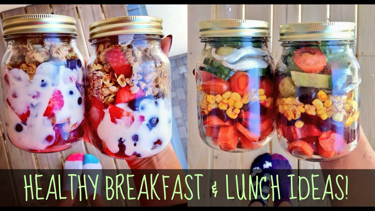 Healthy breakfast and lunch ideas for school work youtube forumfinder Choice Image