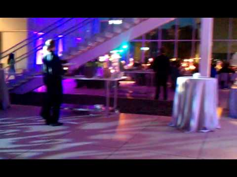 Grand entrance @ Tampa Museum of Art wedding reception - YouTube