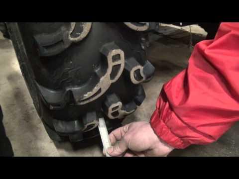 Резина для квадроциклов. Тест резины. 2013