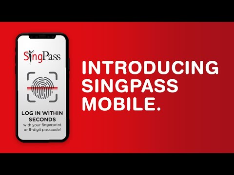Introducing SingPass Mobile Say goode to passwords and tokens!