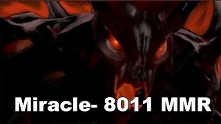Miracle- 8011 MMR EU. Top 1 MMR in the World Dota 2