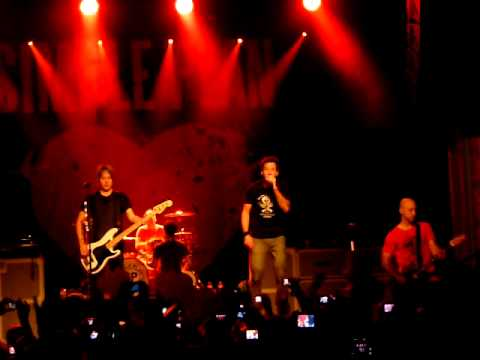 Simple Plan @ Gent 12 september 2011 Welcome to my life