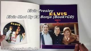 Elvis Presley - Elvis Shot By Ed Bonja (Book+CD)