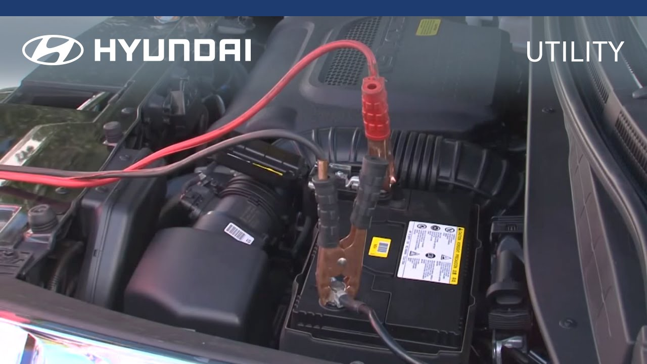 Hyundai Myhyundai How To Jump Start Your Car Youtube Electrical Wiring Premium