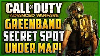 "Advanced Warfare Glitches - Secret Spot Under The Map on Greenband! ""XBOX 360,PS3"""