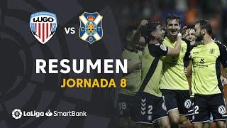 Resumen de CD Lugo vs CD Tenerife (1-4)