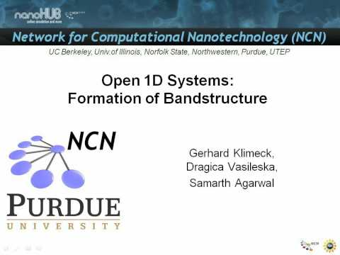 Nanoelectronic Modeling Lecture 14: Open 1D System...