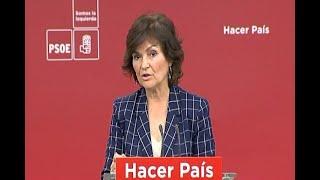 PSOE quiere que española presida socialistas europeos