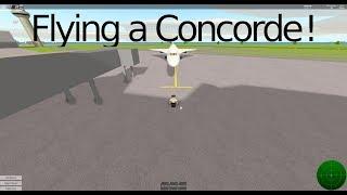 Preparatevi per il decollo! - Volare un Concorde! (Roblox)
