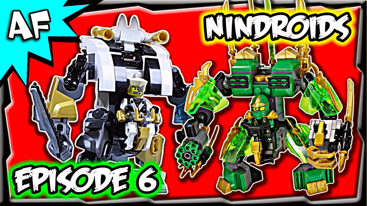 lego ninjago rebooted episode 6 rise of the nindroids