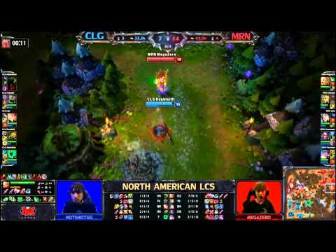 LCS NA W9D2 - Doublelift Outduels Megazero - Twitch Mechanics