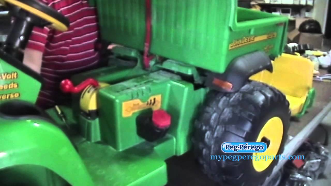 How To Know If Your Peg Perego John Deere Gator Ride On Toy Is Ignition Wiring Diagram Working Properly