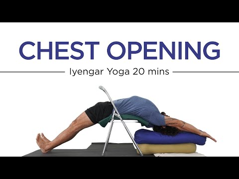 Chest Opening-Iyengar Yoga