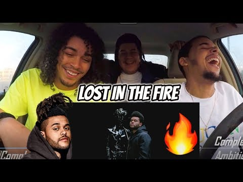 Gesaffelstein & The Weeknd - Lost in the Fire (DRAKE DISS?) VIDEO REACTION REVIEW Mp3