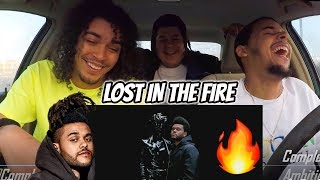 Gesaffelstein & The Weeknd - Lost in the Fire (DRAKE DISS?) VIDEO REACTION REVIEW