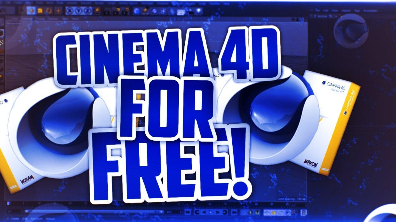 How to Get Cinema 4D For Free - Cinema 4D Free Download Full Version (2019)