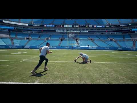 Austin James - Filmore kicking field goals!