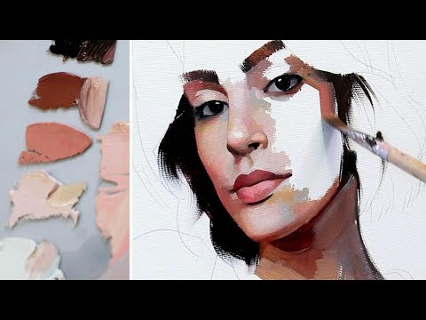 OIL PAINTING PROCESS || The Mind of an Artist #3