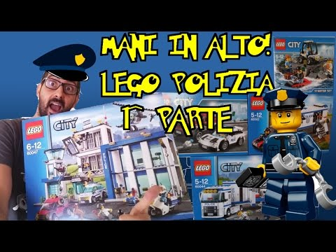 LEGO CITY POLIZIA! 1^ PARTE - Lego set 60043 60044 60127 60128