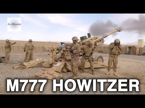 Witness The Ground-Shaking Power Of The M777 Howitzer