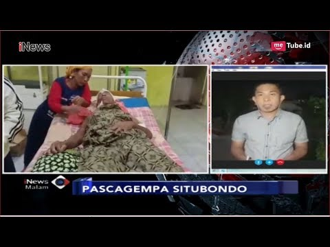 Diguncang Gempa 6,3 SR, Ratusan Rumah Di Situbondo Rusak Parah - INews Malam 11/10