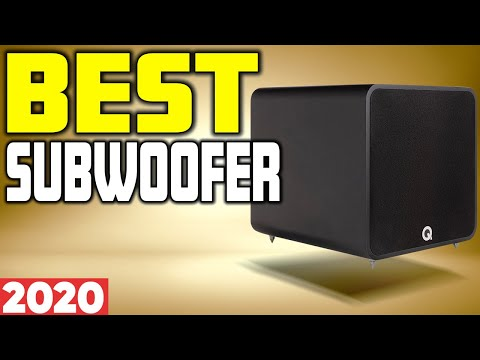 5 Best Subwoofer in 2020