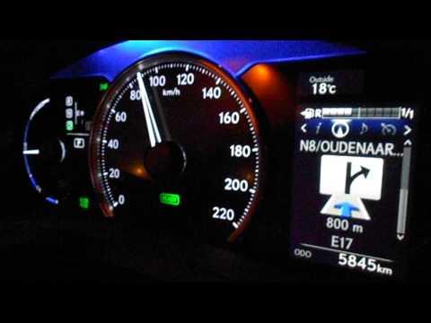 2016 Ct200h F Sport - Acceleration 0 - 100 km/h (0 - 60 mph) - Lexus CT 200h (2014)