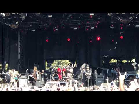 Vinnie Paul tribute featuring GWAR at aftershock 10-13-18 mouth of war
