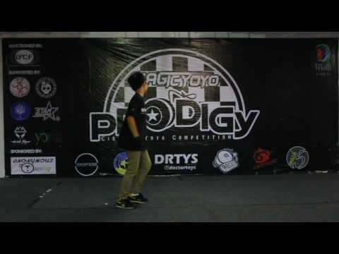 1st 1A Advance Final Thierry Amadeo - Prodigy Circuit Yoyo Competition: Throw 3
