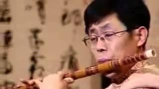 Chinese bamboo flute music:大漠Great Desert   演奏:馬迪 SD