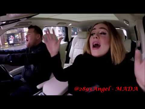 ALL I ASK - ADELE  (From Carpool karaoke)