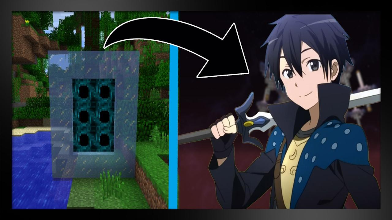 скины из аниме мастера меча онлайн кобольд для майнкрафт #6