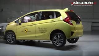 Crash test Euro NCAP - Rover 100 vs Honda Jazz