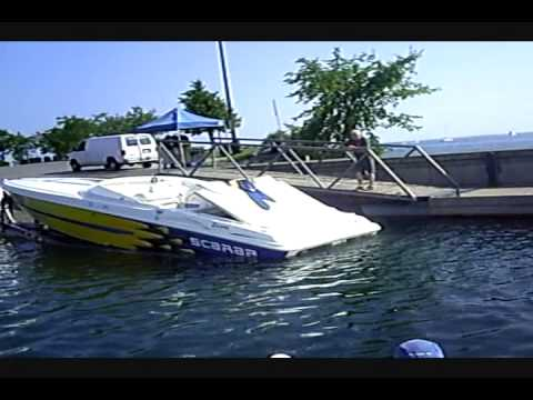 FREE ENERGY two electric motors Solar Powered boat