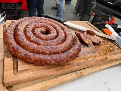 How to make Sausage #Jalapeno #Cheddar #Wagyu #RedsBBQ