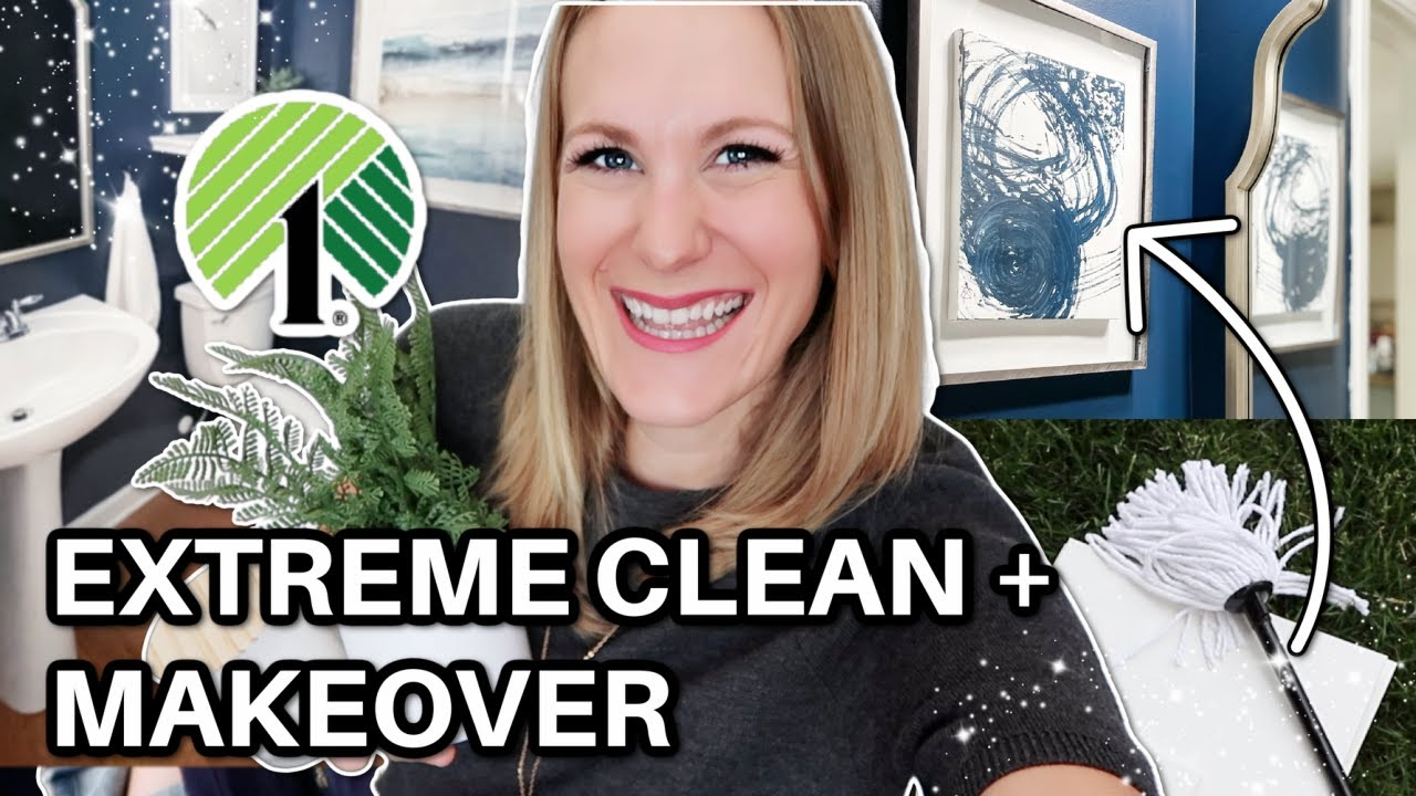 2021 ULTIMATE CLEAN + HOME MAKEOVER WITH ME! 🌟 7 tricks to save time + money!