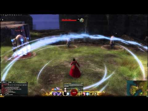 GW2: Elementalist, All Weapon Skills & Abilities.
