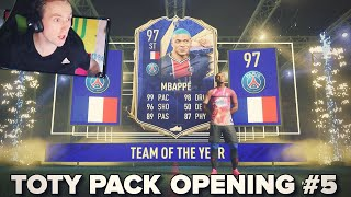 97 TOTY MBAPPÉ! TOTY PACK OPENING [DAY 4]
