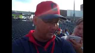 VIDEO: Terry Francona talks with media after 8-3 loss to Reds